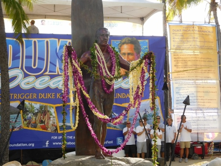 OPENING LEI DRAPING CEREMONY